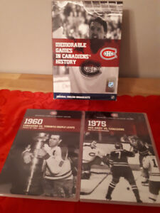10 DVD set, 10 Memorable Games in Canadiens History