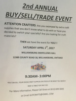 2nd Annual Buy/Sell/Trade Event