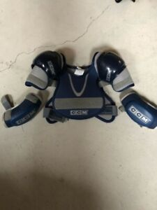 Ccm beginners shoulder and elbow pads