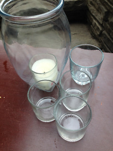 Glass Candle Holders for Sale (CHEAP)