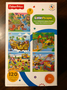 Casse-tête Fisher Price - Little People - 24 mcx