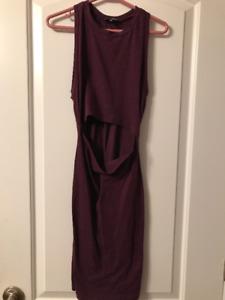Wilfred Aritzia Plum Dress