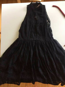 Free People Black Lace Dress - Great Deal!