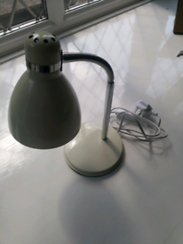 Cream Desk Lamp