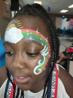 Face Painting for 2 Hrs Only $150 with Hypoallergenic Paint