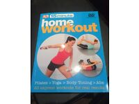 Home Workout - book with DVD
