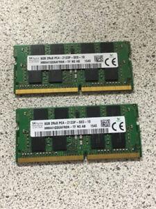 2 BARET MÉMOIRE 2X8GB PC4
