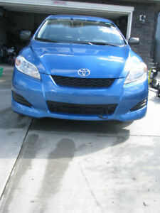 2009 Toyota Matrix with very low mileage( Pontiac Vibe twin )