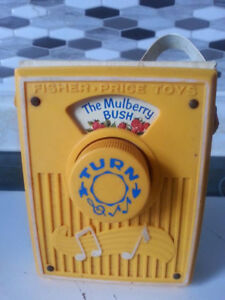 Vintage Fisher Price Pocket Radio 1970's