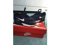 Blue/white Nike AirMax size 5.5Uk