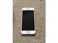 iPhone 6- 64gb Gold and White
