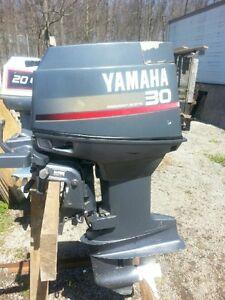 30 hp Precision Blend short shaft outboard tiller