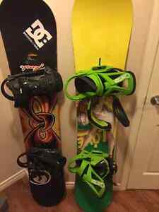 Burton love board with extras