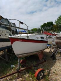 6.4m Bilge Keel Sailing Boat