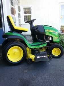 tracteur de jardin john deer 48pouces hydrostatique 20hp 2cyl