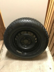 Four Winter Tires With Rims 195/65R15