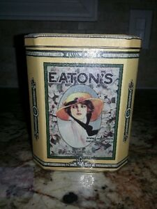 Vintage Eaton Tin - Great Graphics! Excellent condition!