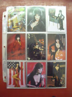 1997 72 CARD SET ELVIRA MISTRESS OF OMNICHROME