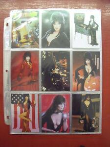 1997 72 CARD SET ELVIRA MISTRESS OF OMNICHROME