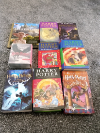 Harry potter books and tapes