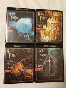 Harry Potter 4K Blu-Rays