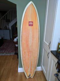 Surfboard, Nineplus Fish 6'3