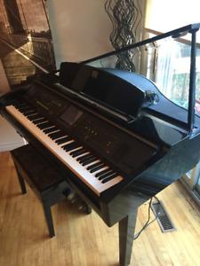 Piano Yamaha Clavinova à vendre (usagé)