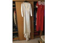 Original 1940's Wedding Dress