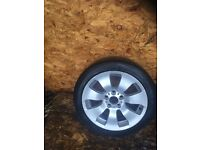 "BMW 3 SERIES E9X ""17"" ALLOY WHEEL AND TYRE"
