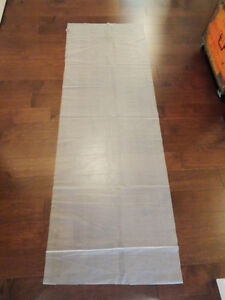 """Anti Slip Under Lay Material  -This piece is 78""""long x26.5"""" wide"""
