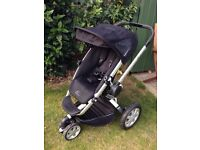 Quinny Buzz stroller pushchair with rain cover & cosy toes.Forward or rear facing Good clean cond'