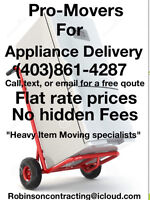 The Heavy Item Movers!!! Appliances, Antiques,Vending,Safes