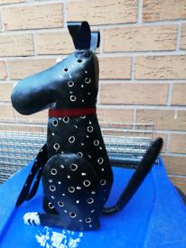Metal dog tealight