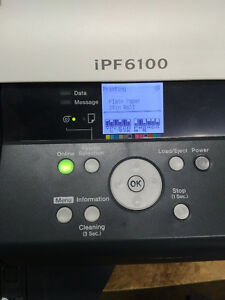 "Canon iPF6100 wide format printer/ plotter for sale, 24"" wide."