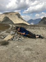 Summer backpacking trip in the Yukon.