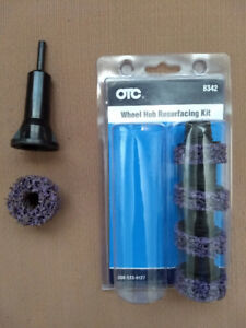 OTC wheel hub stud cleaner and mac screwdriver