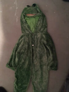 Frog costume  Size 33'
