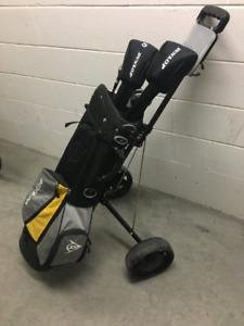Women's Golf Clubs and Cart