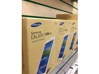 SAMSUNG GALAXY TAB 3 4G UNLOCKED BRAND NEW BOXED COMES WITH 2 YEARS SAMSUNG WARRANTY & RECEIPT