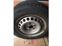 "VW Volkswagen transporter T5 16"" steel wheel. Spare wheel."