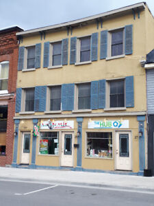 Napanee, downtown,four bedroom, furnished two storey apartment