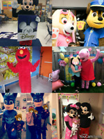 HIGH QUALITY CHARACTERS/COSTUMES FOR RENT! PEPPA PIG PAW PATROL