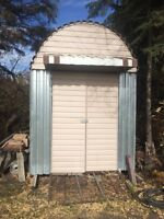 8'x10' HD Metal Shed On Skids