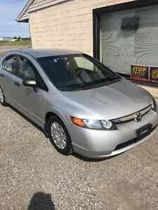 2008 Honda Civic DX-G Certified 2 YEARS WARRANTY Included London Ontario image 3