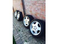 Genuine Mercedes Monoblock Alloys