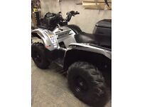 Yamaha grizzly 700 special edition silver