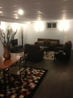 Newly Renovated Furnished 2 Bedroom Basement Suite,Utilities inc