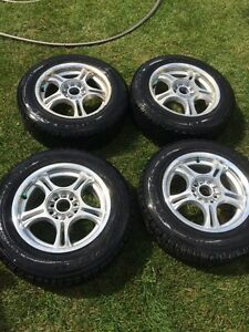 """16"""" rims with winter tires"""