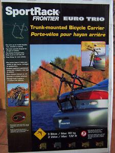 SportRack Euro Trio 3 Bike Trunk Mount Bike Rack