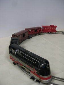 Vintage Toy Train - FROM PAST TIMES Antiques -1178 Albert